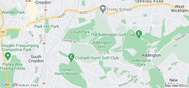 Location map for Carpet Fitter in Croydon,  CR0