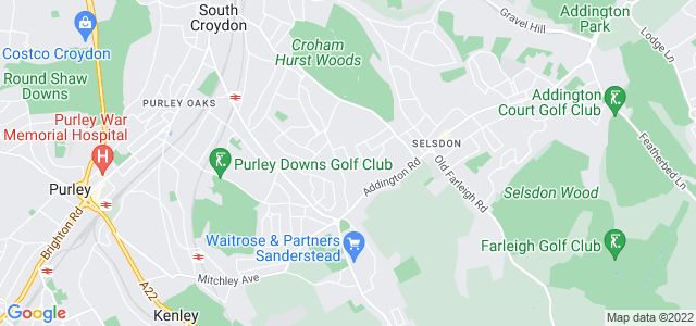 Location map for Carpet Fitter in South Croydon,  CR2