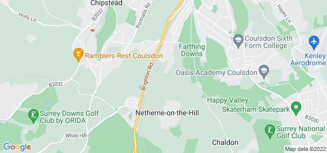 Location map for Carpet Fitter in Coulsdon,  CR5