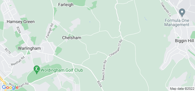 Location map for Carpet Fitter in Warlingham,  CR6
