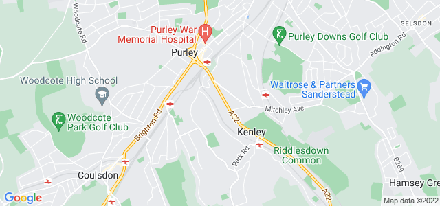 Location map for Carpet Fitter in Purley,  CR8