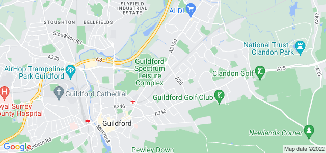 Location map for Carpet Fitter in Guildford,  GU1