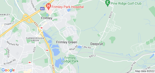 Location map for Carpet Fitter in Frimley,  GU16
