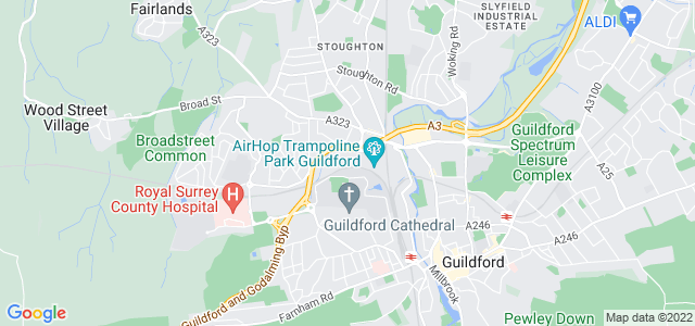 Location map for Carpet Fitter in Guildford,  GU2