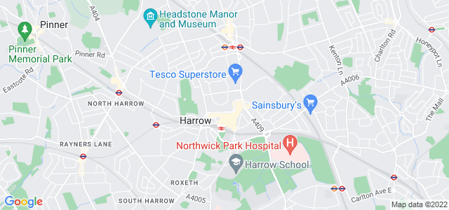 Location map for Carpet Fitter in Harrow,  HA1
