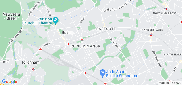 Location map for Carpet Fitter in Ruislip,  HA4