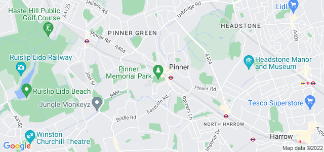 Location map for Carpet Fitter in Pinner,  HA5