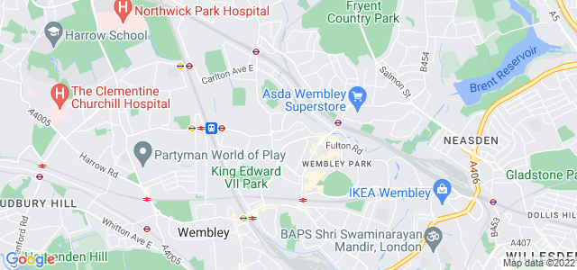 Location map for Carpet Fitter in Wembley,  HA9