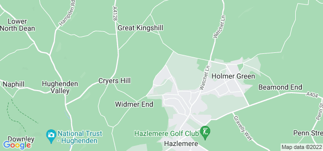 Location map for Carpet Fitter in Hazlemere,  HP15