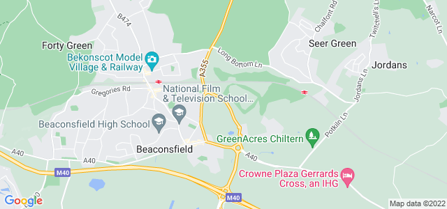 Location map for Carpet Fitter in Beaconsfield,  HP9