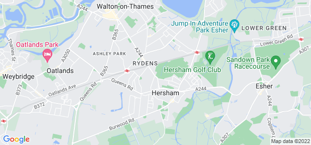 Location map for Carpet Fitter in Walton on Thames,  KT12