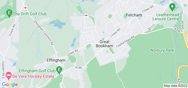 Location map for Carpet Fitter in Great Bookham,  KT23