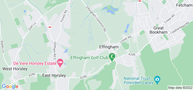 Location map for Carpet Fitter in East Horsley,  KT24
