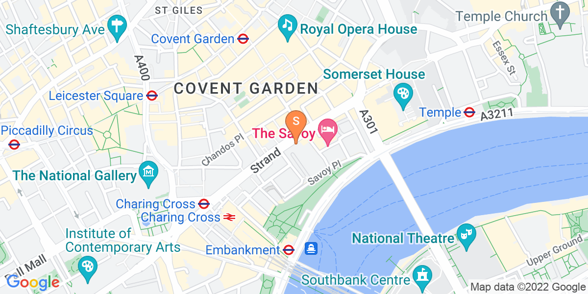Google Map of  London WC2R 0NN