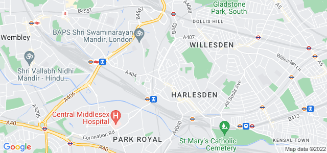 Location map for Carpet Fitter in Willesden,  NW10
