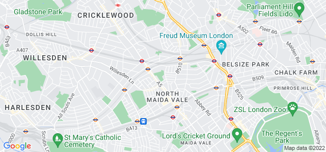 Location map for Carpet Fitter in Kilburn,  NW6