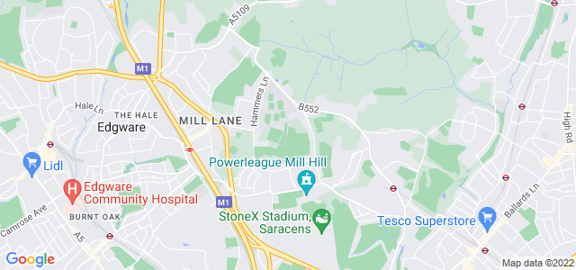 Location map for Carpet Fitter in Mill Hill,  NW7