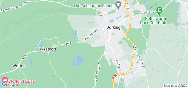 Location map for Carpet Fitter in Dorking,  RH4