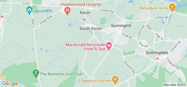 Location map for Carpet Fitter in Ascot,  SL5