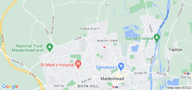 Location map for Carpet Fitter in Maidenhead,  SL6