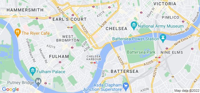 Location map for Carpet Fitter in Chelsea,  SW10