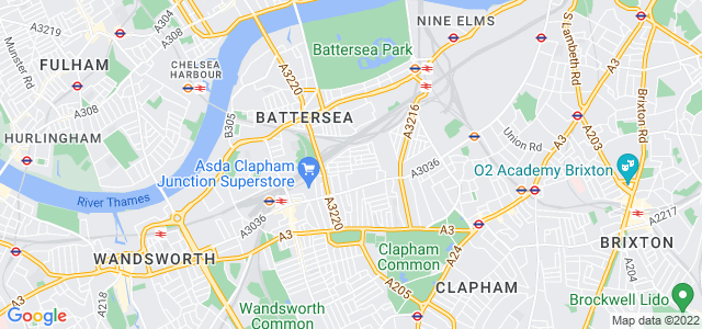 Location map for Carpet Fitter in Battersea,  SW11