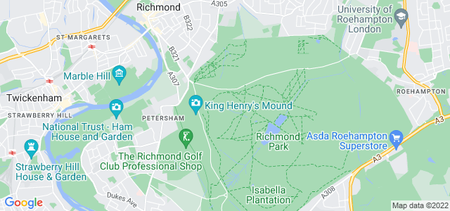 Location map for Carpet Fitter in Richmond,  TW10