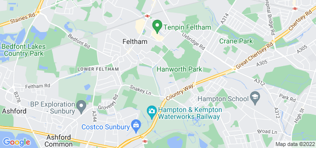 Location map for Carpet Fitter in Feltham,  TW13