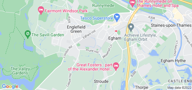 Location map for Carpet Fitter in Epson,  TW20