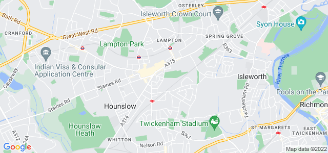 Location map for Carpet Fitter in Hounslow,  TW3