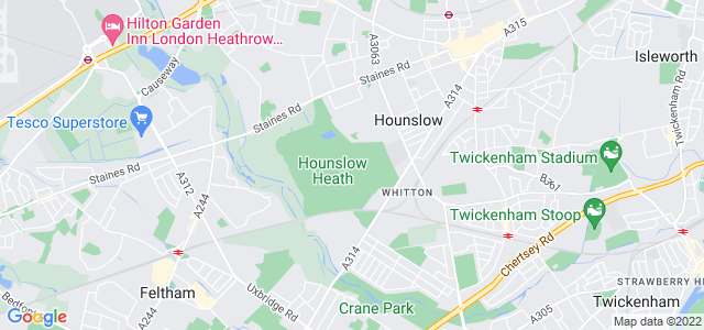 Location map for Carpet Fitter in Hounslow,  TW4