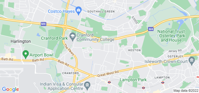 Location map for Carpet Fitter in Hounslow,  TW5