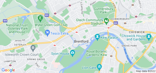 Location map for Carpet Fitter in Brentford,  TW8