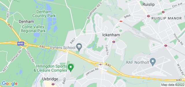Location map for Carpet Fitter in Uxbridge,  UB10