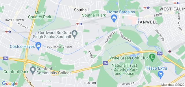 Location map for Carpet Fitter in Southall,  UB2
