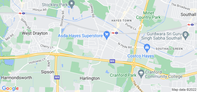 Location map for Carpet Fitter in Hayes,  UB3