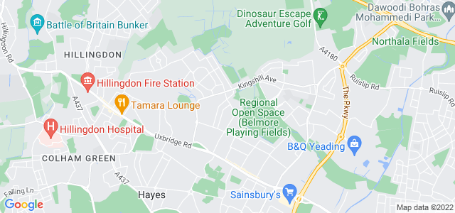 Location map for Carpet Fitter in Hayes,  UB4