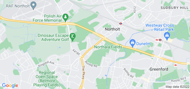 Location map for Carpet Fitter in Northolt,  UB5
