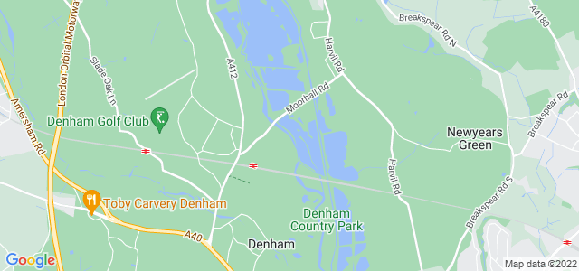 Location map for Carpet Fitter in Denham,  UB9