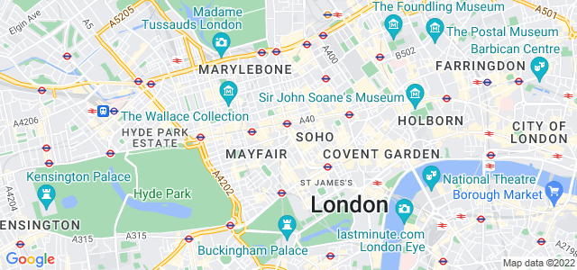 Location map for Carpet Fitter in Westminster,  W1