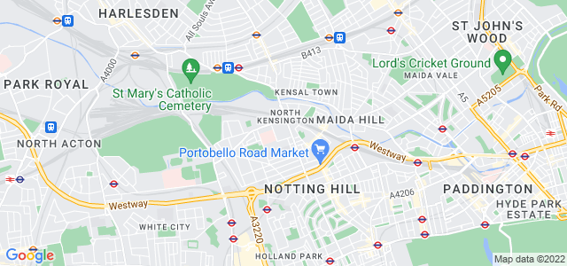 Location map for Carpet Fitter in North Kensington,  W10