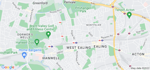 Location map for Carpet Fitter in West Ealing,  W13