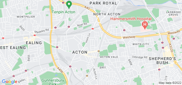Location map for Carpet Fitter in Acton,  W3