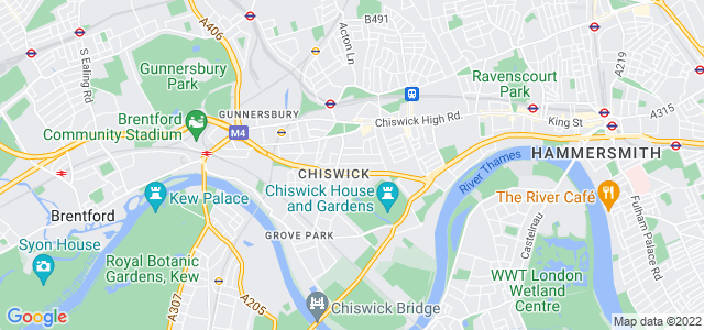 Location map for Carpet Fitter in Bayswater,  W4