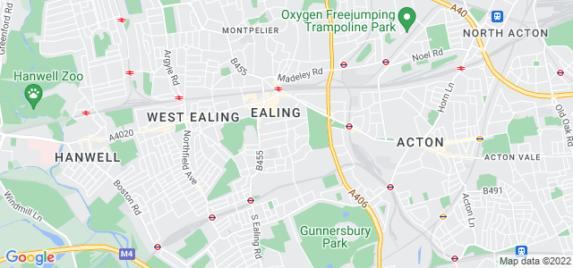 Location map for Carpet Fitter in Ealing,  W5