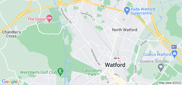 Location map for Carpet Fitter in Watford,  WD17