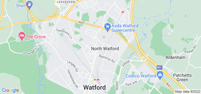 Location map for Carpet Fitter in North Watford,  WD24