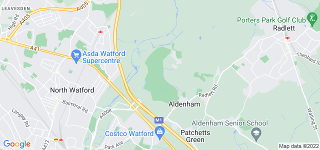 Location map for Carpet Fitter in Garston,  WD25