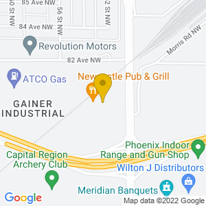 Map to Newcastle Pub & Grill provided by Google