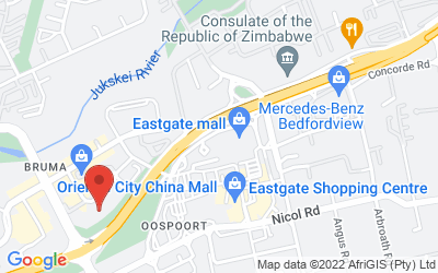Map of Eastgate